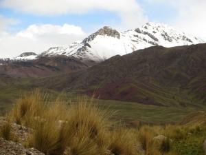 Wunchures Andean Landscape