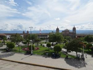 Main plaz Ayacucho
