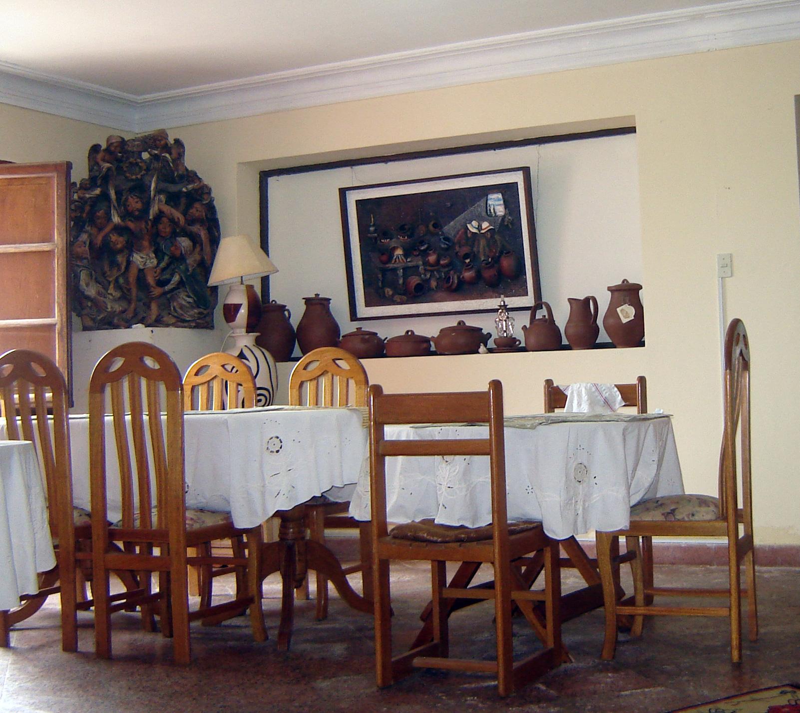 Gästehaus Lurin Frühstücksraum